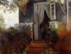 On the Steps – Konstantin Makovsky