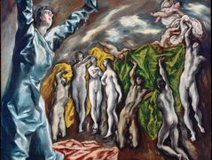 Opening of the fifth seal (The vision of Saint John the Divine) — El Greco