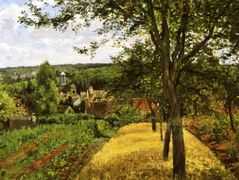 Orchards at Louveciennes – Camille Pissarro