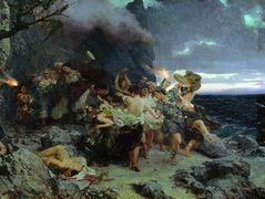 Orgy of the Times of Tiberius on Capri – Henryk Siemiradzki