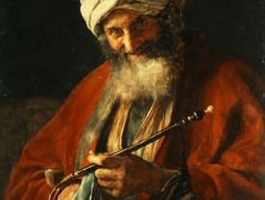 Oriental Man with a Pipe – Nikolaos Gyzis