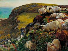Our English Coasts – William Holman Hunt