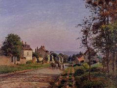 Outskirts of Louveciennes – Camille Pissarro