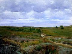 Over the Hills and Far Away — William Merritt Chase