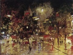 Paris by Night  – Konstantin Korovin