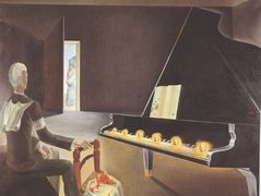 Partial Hallucination: Six Apparitions of Lenin on a Piano – Salvador Dali