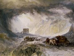Passage of Mount Cenis — William Turner