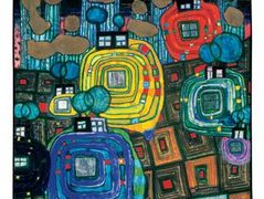 814 Pavilions and Bungalows for Natives and Foreigners – Friedensreich Hundertwasser