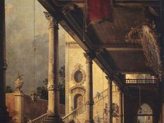 Perspective with a Portico – Canaletto