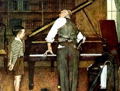 Piano Tune – Norman Rockwell