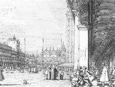 Piazza San Marco: Looking East from the South West Corner – Canaletto