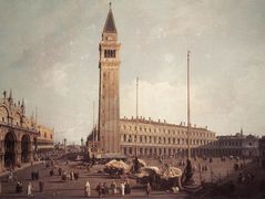 Piazza San Marco: Looking South West – Canaletto