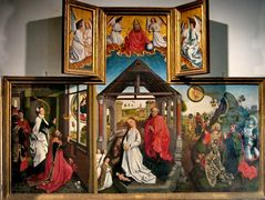 Polyptych with the Nativity – Rogier van der Weyden
