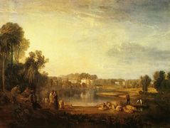 Pope's Villa, at Twickenham – William Turner