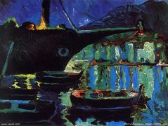 Port of Cadaques (Night) – Salvador Dali