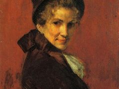 Portrait of a Woman – William Merritt Chase