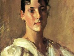 Portrait of a Woman  — William Merritt Chase