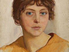Portrait of a young Woman – Zinaida Serebriakova
