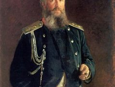 Portrait of Adam Olsufyev – Nikolai Ge