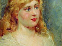 Portrait of Blonde – Konstantin Makovsky