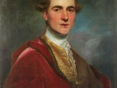Portrait of Charles Hamilton, 8th Early of Haddington – Joshua Reynolds