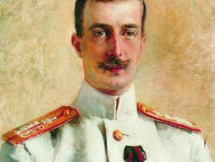 Portrait of Cyril Vladimirovich, Grand Duke of Russia – Konstantin Makovsky