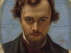 Portrait of Dante Gabriel Rossetti  – William Holman Hunt