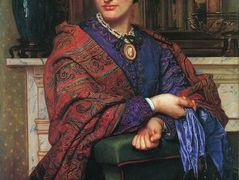 Portrait of Fanny Holman Hunt  – William Holman Hunt