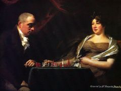 Portrait of Francis and his wife Eliza Dundas Cumming – Henry Raeburn
