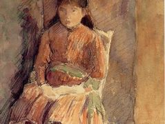 Portrait of Jeanne, the Artist's Daughter – Camille Pissarro