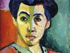 Portrait of Madame Matisse (Green Stripe) – Henri Matisse