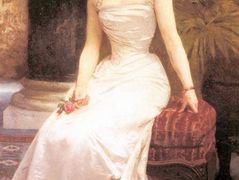 Portrait of Madame Olry Roederer – William-Adolphe Bouguereau