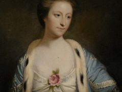 Portrait of Mary Barnardiston – Joshua Reynolds