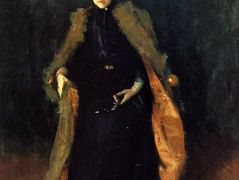 Portrait of Mrs.C. (Alice Gerson Chase) – William Merritt Chase