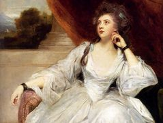 Portrait of Mrs. Stanhope – Joshua Reynolds