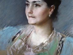 Portrait of Mrs. William Chase – William Merritt Chase