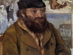 Portrait of Paul Cezanne – Camille Pissarro