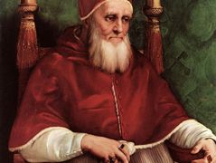 Portrait of Pope Julius II  — Raphael