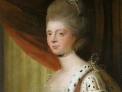 Portrait of Queen Charlotte – Joshua Reynolds