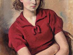 Portrait of the artist's daughter — Zinaida Serebriakova
