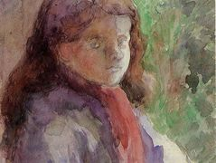 Portrait of the Artist's Son, Ludovic Rudolphe – Camille Pissarro