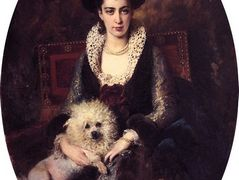 Portrait of the Artist's Wife – Konstantin Makovsky