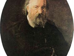 Portrait of the Author Alexander Herzen – Nikolai Ge