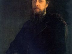 Portrait of the Author Mikhail Saltykov-Shchedrin – Nikolai Ge