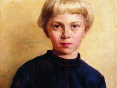 Portrait of the Boy – Konstantin Makovsky