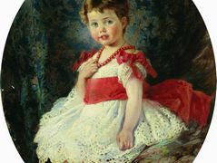 Portrait of the Girl – Konstantin Makovsky