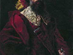 Portrait of the Man in Red Velvet Suit – Konstantin Makovsky