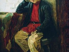 Portrait of Vladimir Makovsky in Childhood – Konstantin Makovsky