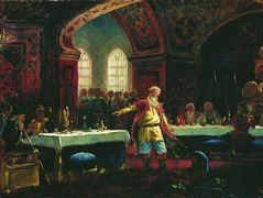 Prince Repin at the Banquet of Ivan the Terrible – Konstantin Makovsky