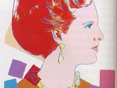 Queen Margrethe II Of Denmark — Andy Warhol